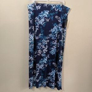 """NWT"" Ana Floral Maxi Skirt"